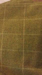 details about olive green plaid m3 mill dyed wool for rug hooking applique penny rugs
