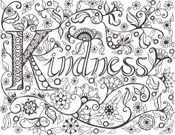Kindness Coloring Pages Cool Coloring Pages