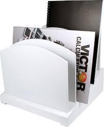 com white file organizer wood desk organizer office s
