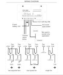 dakota digital dual fan controllers pac 2000 wiring diagram pac 2000