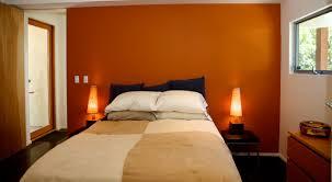 Orange And Brown Bedroom House Badroom