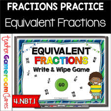 Equivalent Fractions Powerpoint Game By Teacher Gameroom Tpt