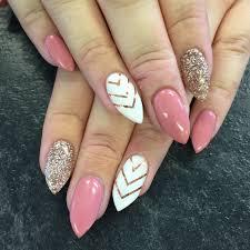 50 Rhinestone Nail Art Ideas | Glitter gel, Rhinestone nails and ...