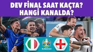 İtalya - İngiltere EURO 2020 final maçı ne zaman, saat kaçta, hangi  kanalda? - YouTube