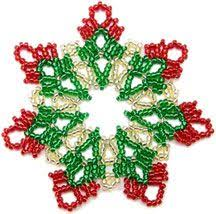 Beaded Christmas Ornaments Patterns Extraordinary Free Faceted Bead Ornament Patterns Christmas Ornaments Or