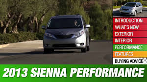 2013 Toyota Sienna Review - YouTube
