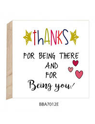 Image result for thanks for being you pic