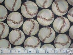 Buy Baseball quilt fabrics at Bear Paw Quilt Co. | Stores baseball ... & BASEBALL Quilt Fabric - Take Me Out to the Ball Game - Shamash & Sons Adamdwight.com