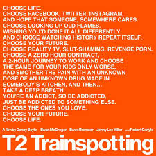Pin by Luca Danieli on Best Movie Quotes of All Time! | Trainspotting,  Trainspotting quotes, Choose life