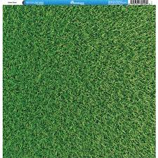 Green Layouts Reminisce Golf Collection 12 X 12 Single Sided Paper Green Grass