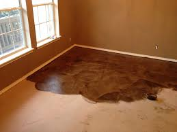 diy paper bag floors that look like stained concrete for acid stained concrete floors