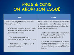 abortions pros and cons essay how to write a philosophy essay