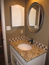 Bronze Mirror Bathroom Hall Bath Antiqued Nickel Mirror Granite Oil Rubbed Bronze