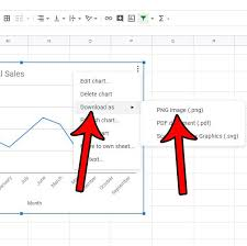 How To Download A Graph Or Chart As A Picture From Google