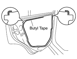 repair guides interior door glass & regulator 2 autozone com Wire Harness Tape Autozone apply butyl tape to the door, as shown in the illustration Automotive Wire Harness Wrapping Tape