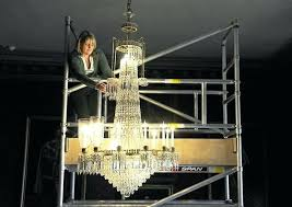 only fools and horses chandelier terry specialist chandelier cleaner at work