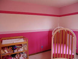 girls room decor ideas painting: inspiring baby room painting ideas in multicolor decorations cute pink baby room painting ideas interior