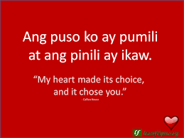 Tagalog Love Quotes Filipino Love Quotes Learn Filipino 42
