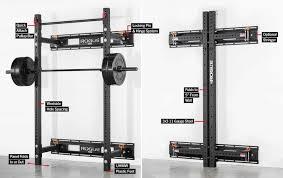 rogue rml 3w fold back wall mount power rack great e saving technology for