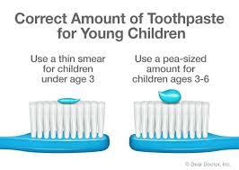 how much toothpaste to use ile ilgili görsel sonucu