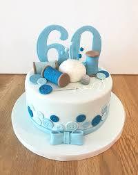Sewing Kit 60th Birthday Cake The Cakery Leamington Spa