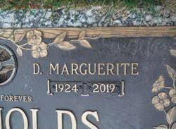 Doris Marguerite Spencer Reynolds (1924-2019) - Find A Grave Memorial