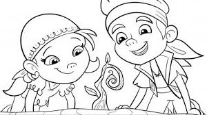 Small Picture Disney junior coloring pages jake and the neverland pirates