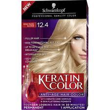 Schwarzkopf Keratin Color Anti Age Hair Color Kit 12 4 Rose Pearl Blonde