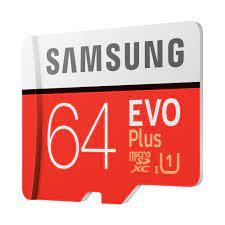 Thẻ nhớ Samsung MicroSDXC EVO Plus 64 GB giá rẻ