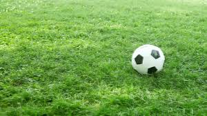 green grass football field. Green Grass Football Field O