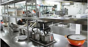 Incredible Kitchen Exquisite Restaurant Design With Stainless Gas