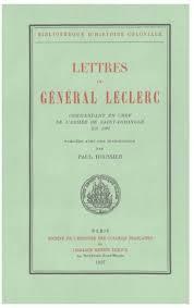 lettres du général leclerc mandant