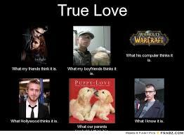True Love... - Meme Generator What i do via Relatably.com