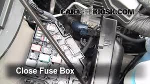 replace a fuse 2009 2015 honda pilot 2009 honda pilot touring Honda Pilot Fuse Box 6 replace cover secure the cover and test component honda pilot fuse box diagram