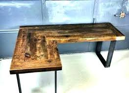 wooden corner desk. Wood Corner Computer Desk Wooden Desks En Devaise