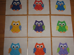 The edges of the appliques will have to be finished by you before ... & Image detail for -owls applique quilt blocks from pawarren Adamdwight.com