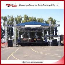 Pvc Lighting Truss China Large Outdoor Stage Aluminum Roof Truss With Pvc