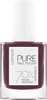 CATRICE <b>Лак для ногтей PURE</b> Nail Polish, 10 мл, 05 Purity ...
