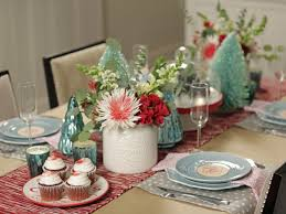 28 Christmas Table Decorations Settings Entertaining Ideas 2 . within Cheap  Holiday Table Decorations