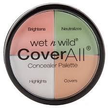 <b>Wet n</b> Wild Набор <b>корректоров для лица</b> Coverall Concealer Palette