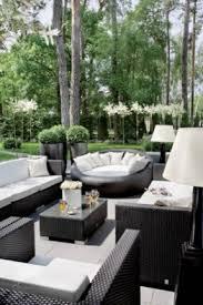 contemporary design black outdoor furniture exclusive idea patio sets foter