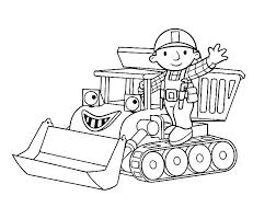 Small Picture Printable Coloring Pages Bob The Builder Coloring Pages
