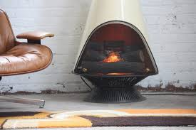 photo 4 of 5 mid century electric fireplace 4 en fuego midcentury modern majestic electric cone firepla flickr