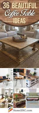 Utilize the central space occasioned from the rates merging to show your beautiful flower vase or candle holder. 36 Best Coffee Table Ideas And Designs For 2021