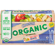capri sun juice drink blend organic fruit punch