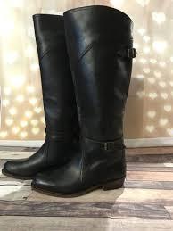 frye women s dorado riding dark brown leather boots 77561 size 6