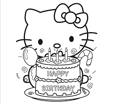Big Hello Kitty Coloring Pages Homelandsecuritynews