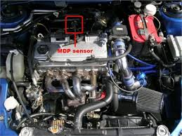 solved were is located the camshaft position sensor on a fixya source 2001 mitsubishi eclipse failed smog 2 4l
