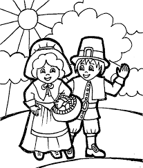 Small Picture Printable Pilgrims Coloring Pages Coloring Me