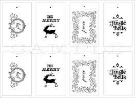Christmas Gift Tags | Printable